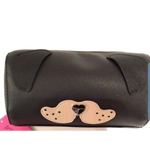 Betsey Johnson Roll Cosmetic Dog Bag